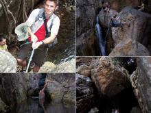 Kloofing and Abseiling in Magaliesberg