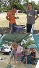 Camping in Warmbad